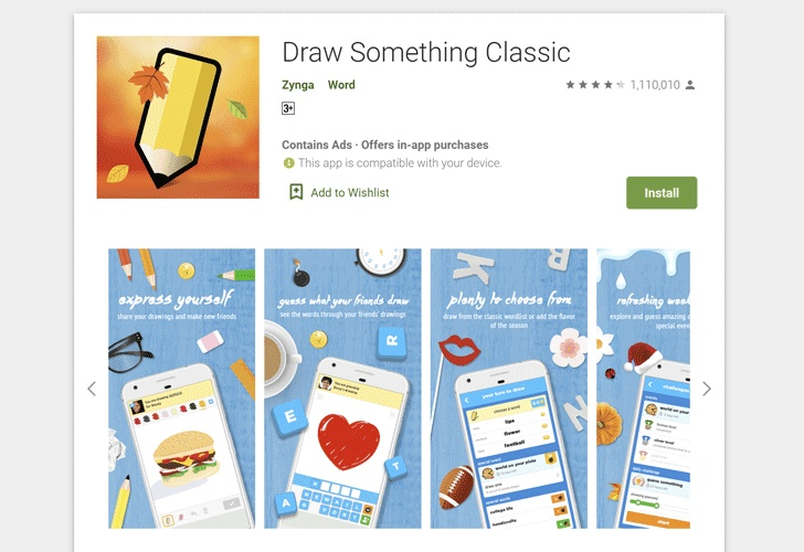 zynga draw something