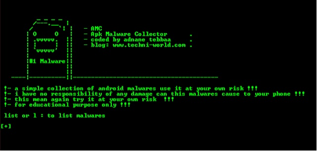 apk malware collector