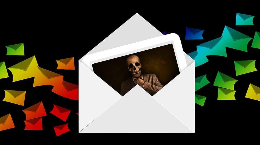 envelope at mail virus