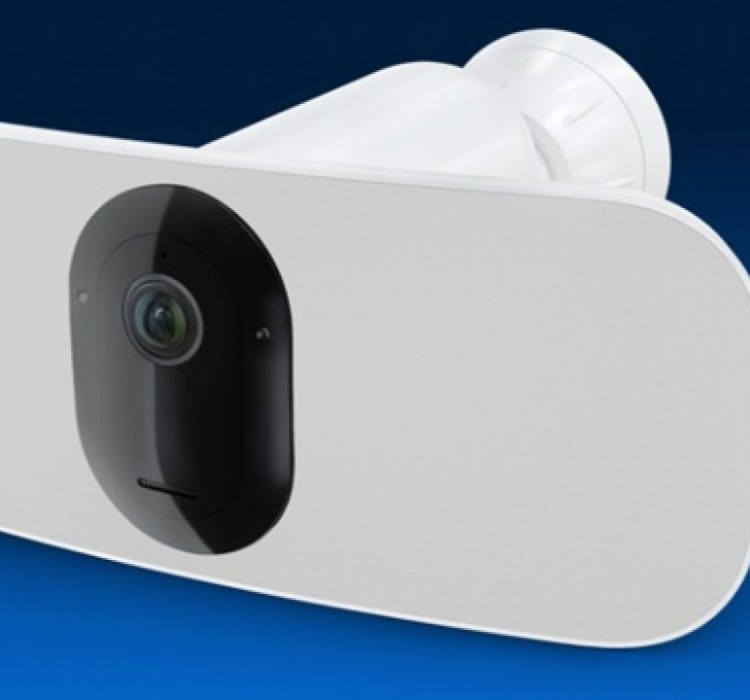 Arlo Pro 3 Floodlight, videosorveglianza senza fili con LED e cloud