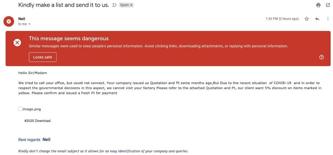 phishing coronavirus