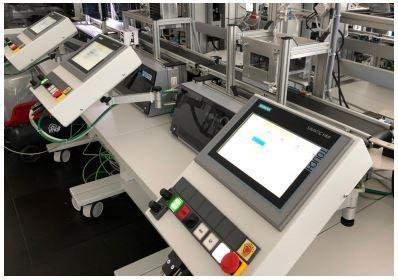 industry 4 0 lab, il sistema analizzato durante la ricerca