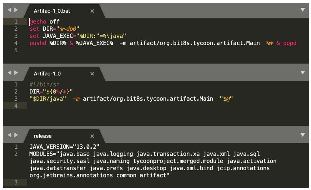 la shell per l esecuzione del ransomware