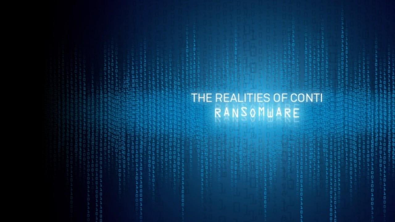 conti ransomware