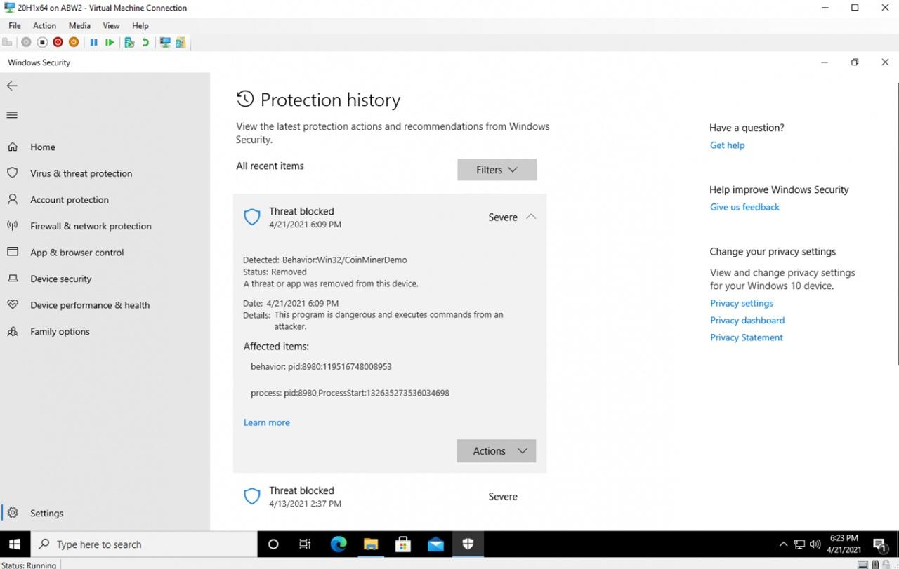 malware detection 2