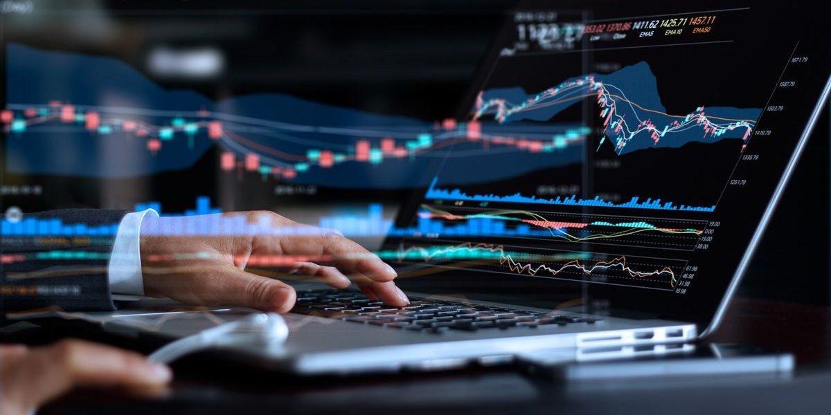 financial market graph abstract 1200x600