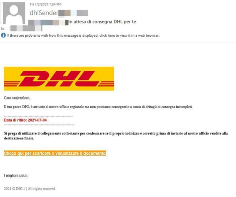 dhl phishing 5