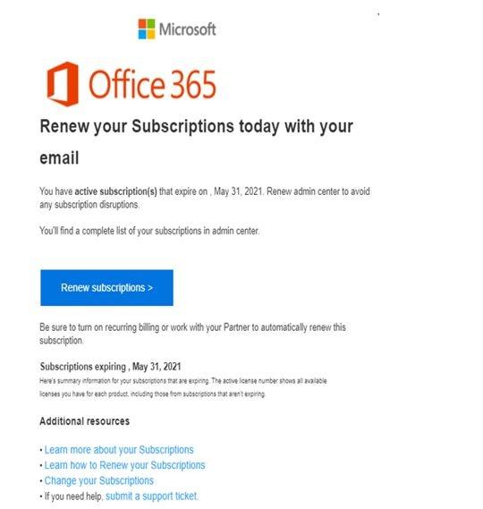 office phishing